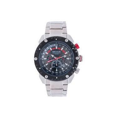 91aded1072c Relógio de Pulso Masculino Seculus Cronógrafo