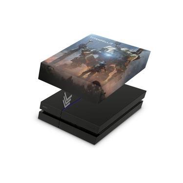 Capa Anti Poeira para PS4 Fat - Titanfall 2 #b