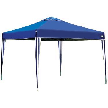 Tenda Gazebo X-Flex Mor, Estrutura Articulada, Azul - 3531