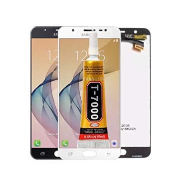 Tela Touch Display Lcd J7 Prime G610 G610m + Cola + Película (Branco)