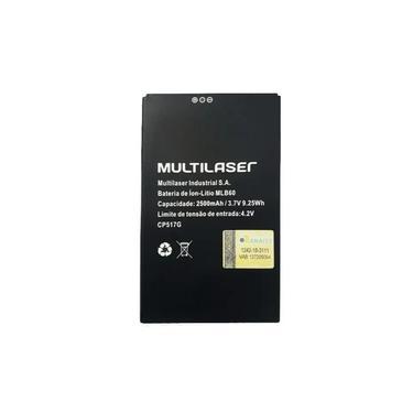Bateria Celular Multilaser Ms60 3.7V 2500Mha Mlb60