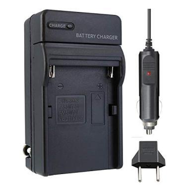 Imagem de Carregador P/Sony NP-F990 NP-FM50 NP-FM55H NP-FM500H NP-F550 NP-f570 NP-F750 NP-F770 NP-F960 NP-F970 QM71 QM91 QM51D Panasonic: VBD1,VBD2,VBD3/VBD815 JVC: V607U,V615U