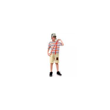Imagem de Fantasia Chaves Infantil Curta Com Chapéu
