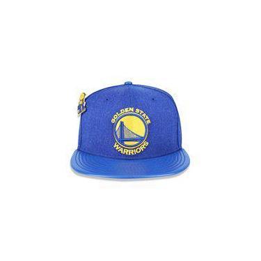 Bone 5950 Golden State Warriors Nba Aba Reta Azul New Era 751d7b60b6c