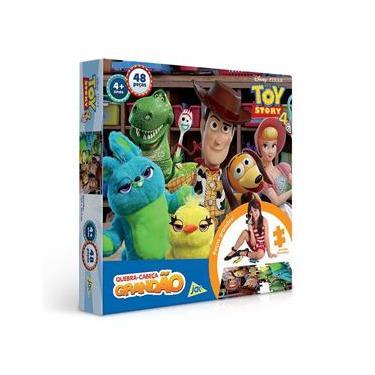 Imagem de Quebra Cabeça Grandão 48 Peças Toy Story 4 Disney Pixar Toyster