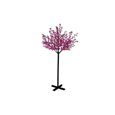 Arvore Cerejeira Natal Luxo 2,20M 592 Leds Bivolt Rosa