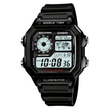4f70417ff5f Relógio Casio Masculino Preto Digital AE-1200WH-1AVDF