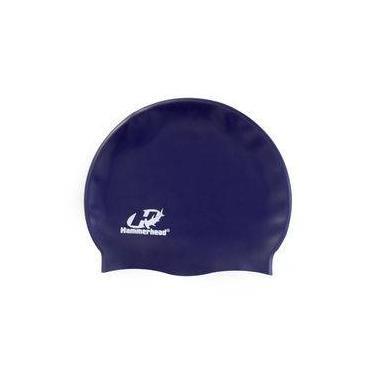 Touca de silicone lisa Hammerhead / Azul Marinho