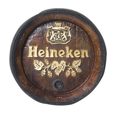 Barril Heineken Cerveja de parede grande em Fibra