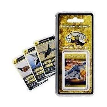 Imagem de Jogo De Cartas Super Copag Trunfo Cards Blister Colecionável Aviões Militares