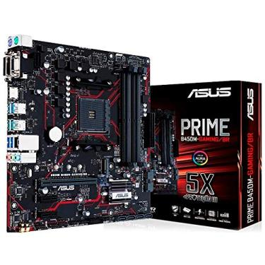 Placa mãe AM4 - Asus B450M Prime Gaming 90MB10H0-C1BAY0 (Micro ATX)