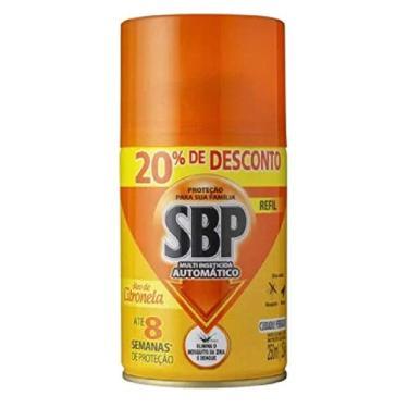 Inseticida Sbp Multi Automático Citronela 250 Ml Refil