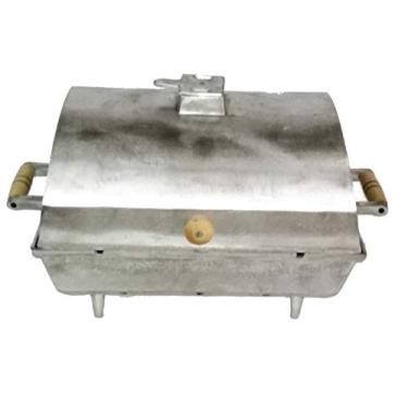 Imagem de Churrasqueira Grande Alumínio Fundido/Batido À Bafo
