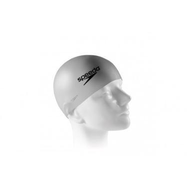 Touca de Natação Lisa Junior Swim Cap em Silicone Prata - Speedo d3a7b85865d