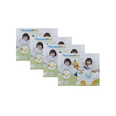 Imagem de Capa para Travesseiro Infantil com Zíper Plumasul 180 Fios 30x40 cm - 4 Unidades