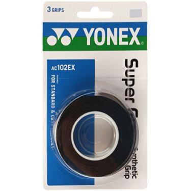 Overgrip Yonex Super Grap Preto (Pack com 3 un.)