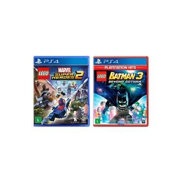 LEGO Marvel Super Heroes 2 + LEGO Batman 3 Beyond Gotham - PS4