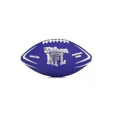 Bola De Futebol Americano - Infantil - Avenger Nfl - Azul - Wilson d5479135c4965