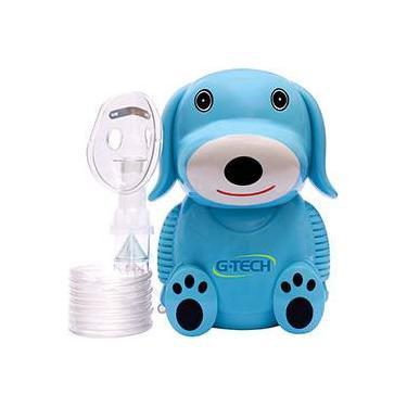 Imagem de Inalador Nebulizador G-tech Nebdog Azul Bivolt