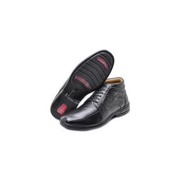 Bota Sapato Social Masculina Duo Confort Rafarillo Cano Alto