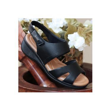 Sandalia Anabelinha Comfort Flex Preto Feminino 19-88404