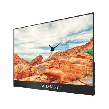 Imagem de WIMAXIT M1560C 15.6 Polegada 1080P 144 hz Monitor de Computador de Jogos Portátil USB C Tela de Exibição Para Tablet Lap Banggood