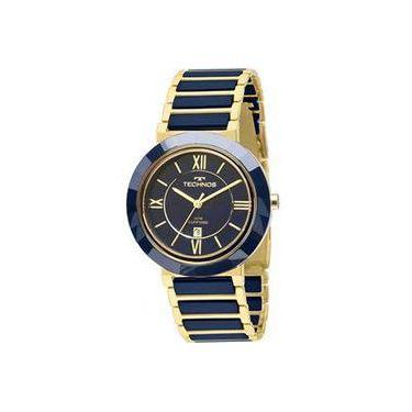 e35eb496363ae Relógio de Pulso Feminino Technos Cerâmica Submarino   Joalheria ...