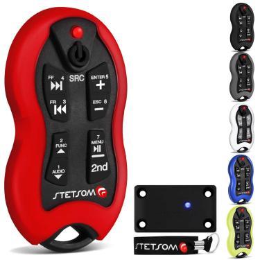 Controle Longa Distância Stetsom SX2 500 Metros Alcance Control Anti Cópia Várias Cores Com Led Vermelho