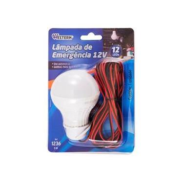 Lâmpada de Emergência LED 12V - Western