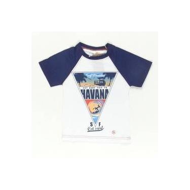 Camiseta Surf Trip To Havana Azul Costão