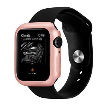 Case Protetor Para Apple Watch 42mm Series 1/2/3 Rose Gold