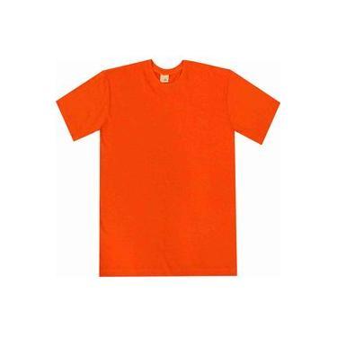 Camiseta básica Pau a Pique Laranja