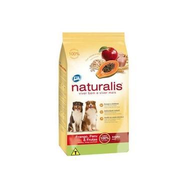 Ração Total Naturalis Frango, Peru E Frutas Cães Adultos 2Kg