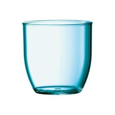 20e1fedde6 Copo Cocktail 6 Unidades 300 Ml Acrílico Alto Padrão Kaballa - Não  Descartável - Azul Royal