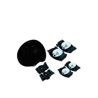 Kit Proteção Com Capacete Eps M (4 A 6 Anos) Belfix
