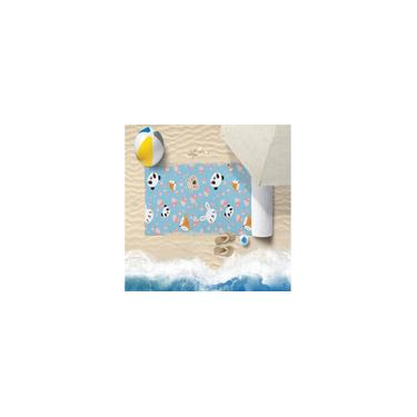 Imagem de Toalha De Praia 60Cm X 1,10M Infantil Anti Areia Love - Bene Casa