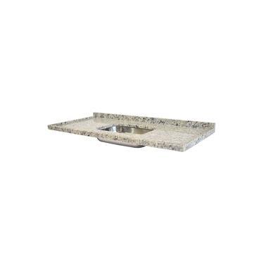 Pia de Granito para Cozinha Levorato Arabesco – 200x55cm – Granito Cinza Arabesco