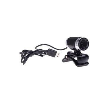 USB HD Webcam Web Cam Camera para Computador Desktop PC Laptop