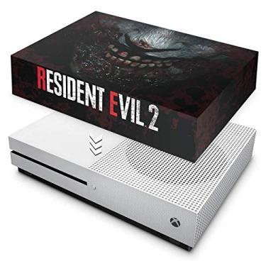 Capa Anti Poeira para Xbox One S Slim - Resident Evil 2 Remake