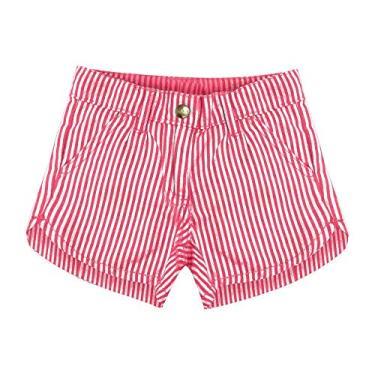 Shorts Infantil Feminino Rovitex Kids Rosa 1
