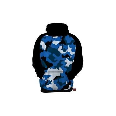 Blusa De Frio Moletom Camuflada Camuflagem Exército Estampas