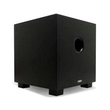 Subwoofer Ativo AAT Compact Cube 8 100W RMS Preto