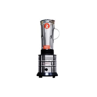 Liquidificador Jarra De Inox 2 Litros 800W Alta Rotação Molhos E Polpas Uso Comercial - Usifaz