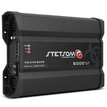 Módulo Amplificador Stetsom Vulcan 5000W Rms 1 Canal 1 Ou 2 Ohms Classe Digital