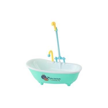 Imagem de Banheira Para Boneca Com Chuveiro Baby Doll Bath A Piha