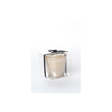 Vela Pote Vidro Decoração Aroma Bapçslha 8 X 9 Cm Dourado