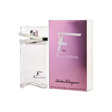 Perfume F For Fascinating Salvatore Ferragamo Spray 90 Ml