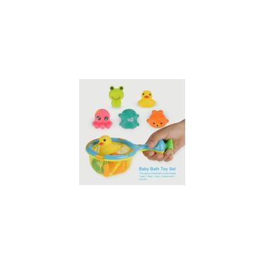 Imagem de Desenho Animado Animal Infantil Brinquedos para Banho de Bebê Interessante Brinquedo de Banho Infantil Água Brincadeira