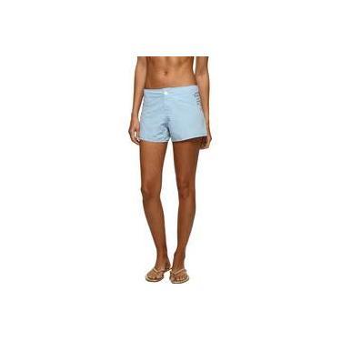 Short ISPO Feminino c/ Silk Azul