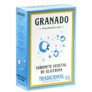 Sabonete De Glicerina Granado Tradicional Barra Com 90G